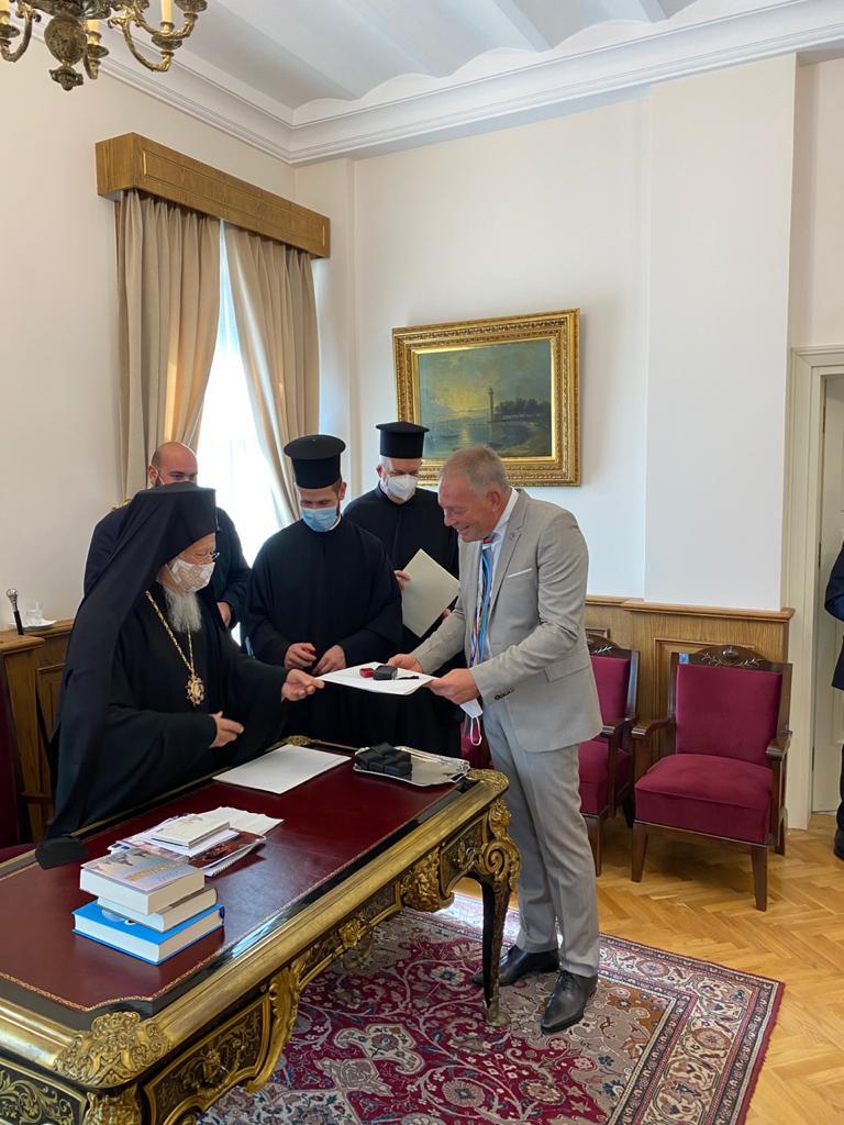 Анатолий Редер и Патриарх Варфоломей
