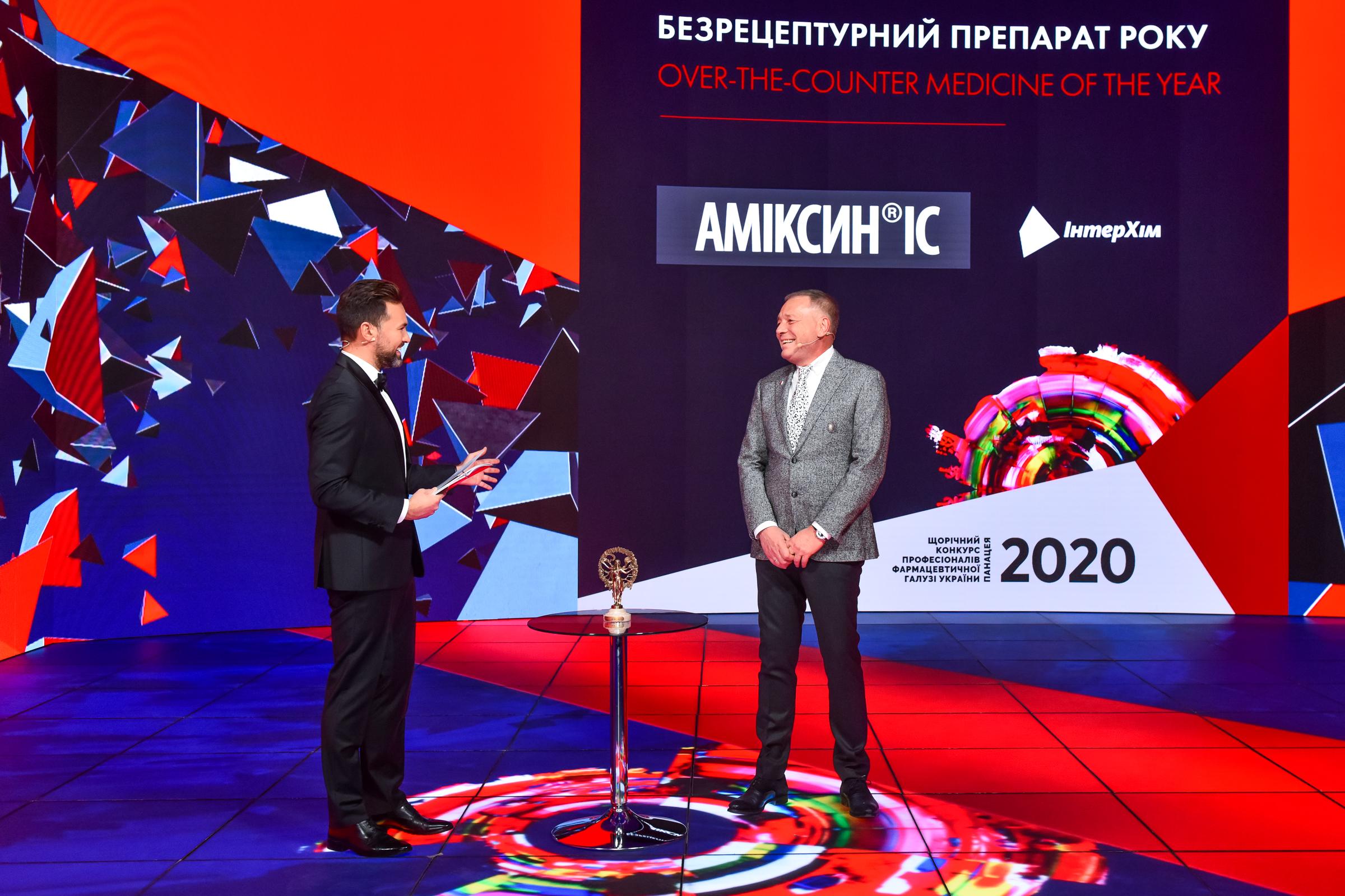 Анатолій Редер Аміксин Панацея-2020
