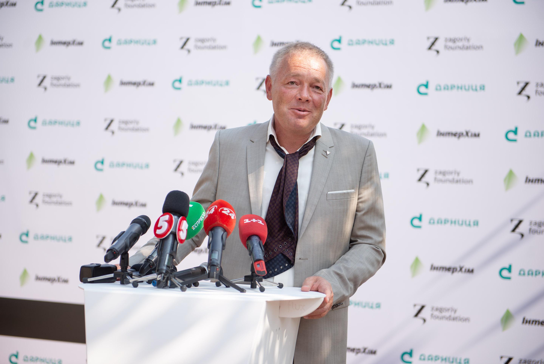 Генеральний директор Інтерхім Анатолій Редер у Софії Київській